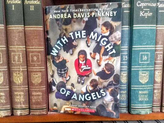 Book Review: With the Might of Angels by Andrea Davis Pinkney