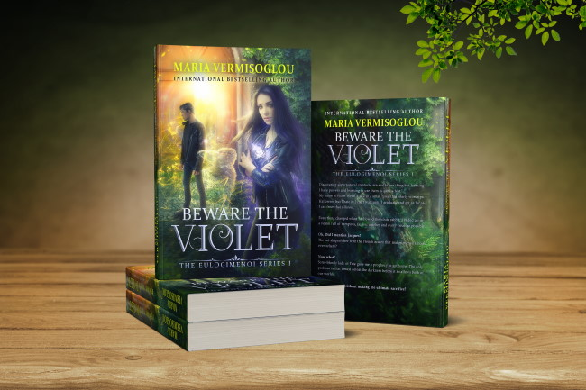 New Release: Beware the  Violet by Maria Vermisoglou – coming October 31, 2019
